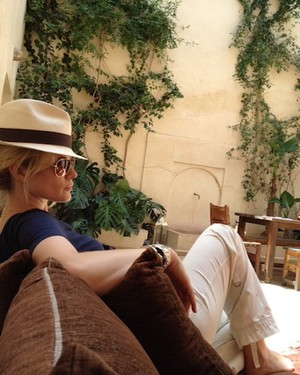 Stephanie March in Marrakech